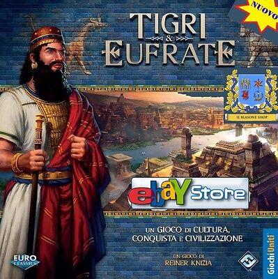 GDT Boardgame - Tigri ed Eufrate - Giochi Uniti - ITALIANO NUOVO