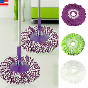 US-Replacement-Easy-Cleaning-Mopping-Head-Wring-Spin-Refill-Mop-for-New