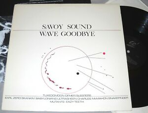 SAVOY-SOUND-WAVE-GOODBYE-Snakefinger-Tuxedomoon-VINYL-LP-record-album-insert-EX