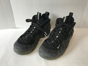 1ed4c84095e Nike Air Foamposite Pro Wool Fleece Dark Grey 624041 007 Sz 8.5