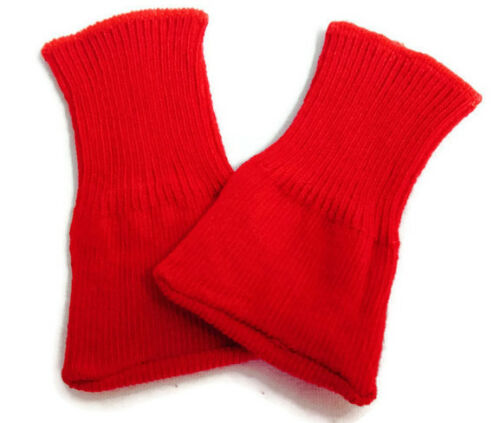 "Red Knit Sport Socks made for 18/"" American Girl Doll Clothes"