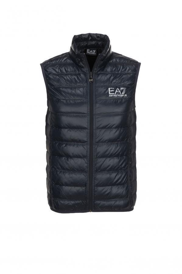 EA7 EMPORIO ARMANI VEST FEATHERS NAVY blueE MOD.8NPQ01 PN29Z
