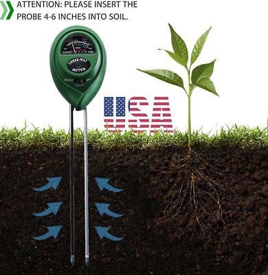 Gutherzig 3 In 1 Digital Ph Tester Sunlight Boden Feuchtemessgerät Detektor Pflanze Garten Den Speichel Auffrischen Und Bereichern