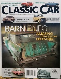 Hemmings Classic Car Nov 2019 182 Barn Finds Collector Cars Free Shipping Cb Ebay