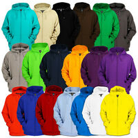 Urban Classics Blank Zip Hoody Jacket 19 Colors 5xl