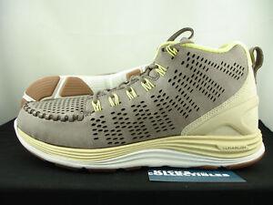Nike Air Lunar Chenchukka QS 9.5 & 10.5 TAUPE BEACH 553553 220 flyknit woven