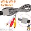 Nintendo-Wii-TV-Kabel-AV-Fernsehkabel-Chinch-3-RCA-Anschluss-fuer-Scart-Wii-U Indexbild 1