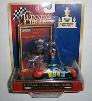 Jeff Gordon 24 Winner's Circle 1997 Nascar Champion 1:64 Scale Collectible