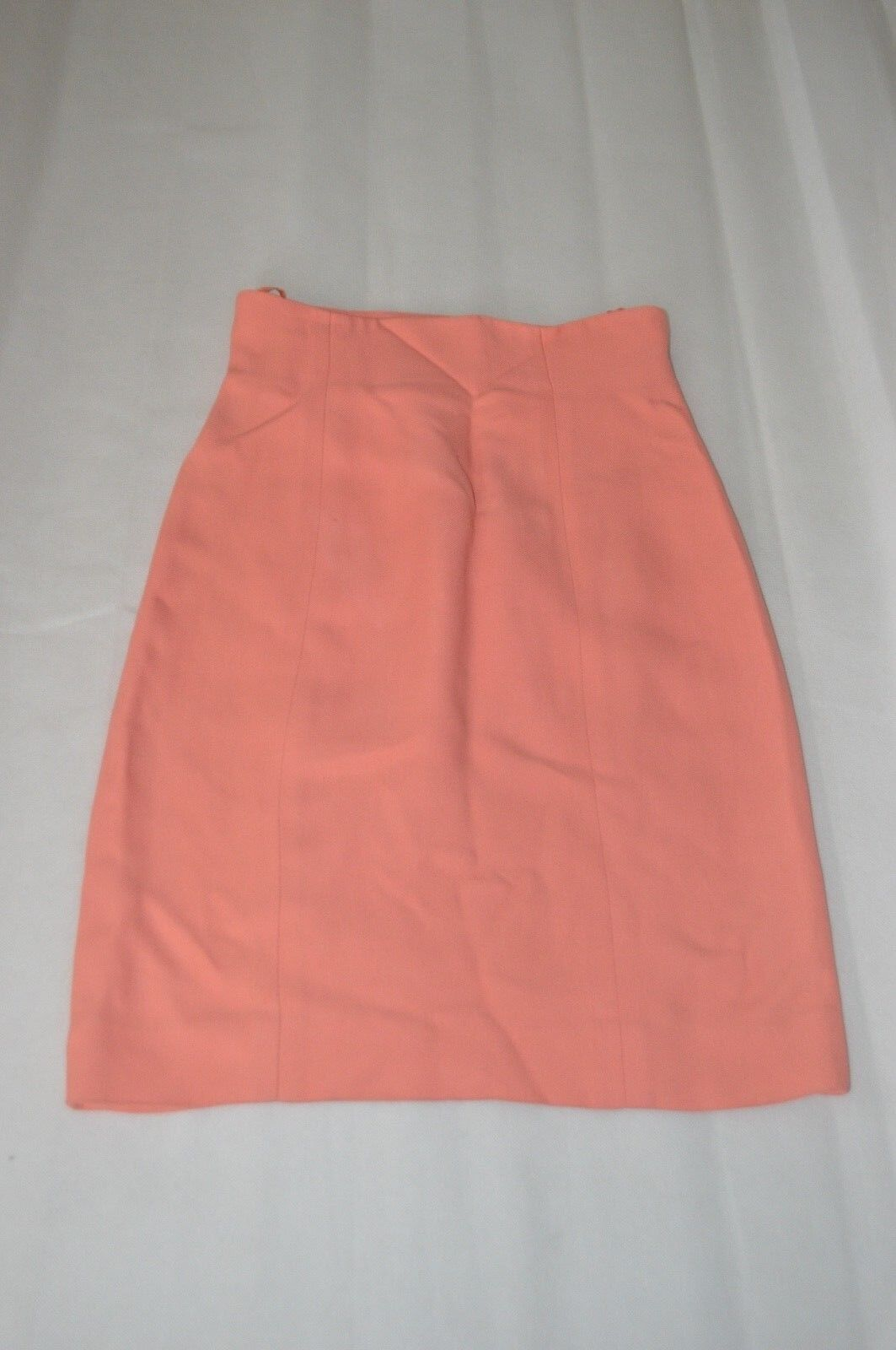 CHLOE Baby Pink Side Zip Suit Formal Skirt Womens Size