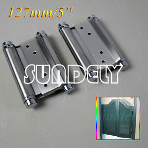 double swing door action hinges way salloon spring hinge saloon