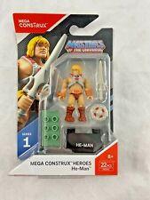 Mega Construx Heroes Series 1 Aliens Colonial Marine Figure Mattel FND67
