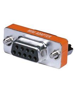 DB9-DB-9-RS-232-Female-to-Female-Mini-Null-Modem-Coupler-Adapter-Converter