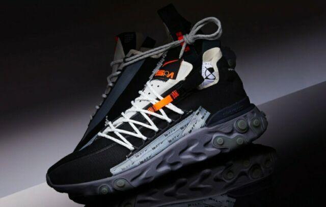 Nike Ispa React Low Running Black off