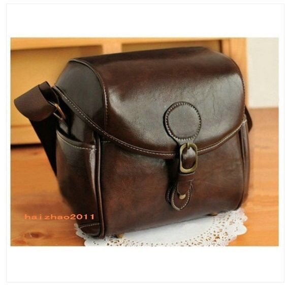 PU Leather Camera Case Bag For Nikon DSLR D3200 D3100 D3000 D5300 D5200 D5100