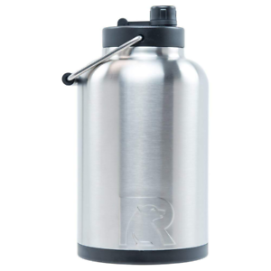 RTIC Double  Wall Vacuum Insulated Stainless Steel Jug Stainless Steel One Gallon  leisure