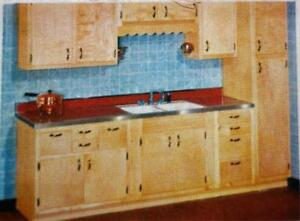 Details about MONTGOMERY WARD KITCHEN CABINETS FORMICA COUNTERTOPS  ADVERTISING BROCHURE 1950s