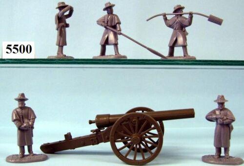 environ 13.61 kg ARMIES IN PLASTIC 5500-Union Artillery 30 lb Parrot figures//Wargaming Kit