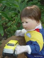 Lee Middleton start Your Engines Future Nascar Baby Boy Doll
