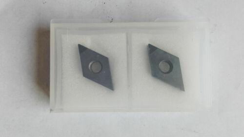 2Pc PCD Insert DNMG150402 Polycrystalline Diamond PCD-Tipped 1-Edge DNMG430.5