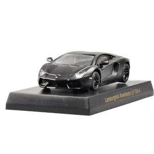 Diecast-1-64-KYOSHO-Cool-Aventador-Model-Car-Kids-Toy-Xmas-Gift-Black