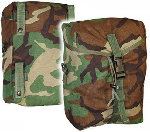 2 US Army Sustainment MOLLE pouch WCP woodland camouflage Tasche bag