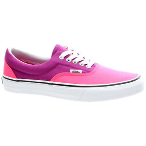Byzantiumneon Shoe 6 Pink Uk Vans Shoes Trainers Era 5 tawcq5H