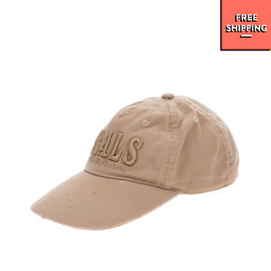 BRUMS Baseball Cap Size S Distressed Style Embroidered Curved Peak