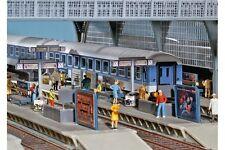Faller 120186 HO 1/87 Décoration de quai de gare
