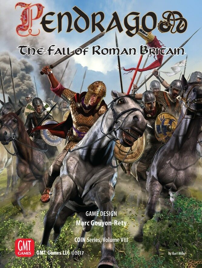 Pendragon - The Fall of Roman Britain Board Game  COIN Series