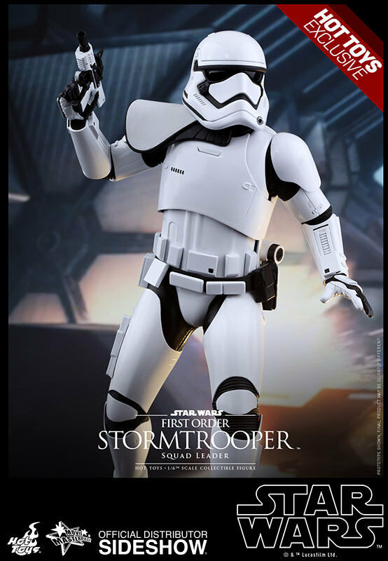 Hot Toys Star Wars 7 TFA First Order Stormtrooper Squad Leader Exclusive MISB