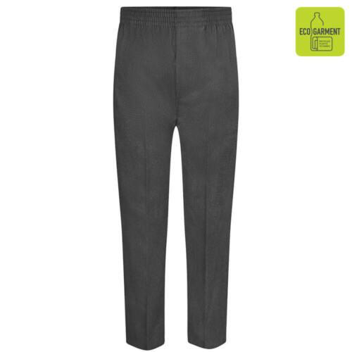 Zeco Complet Élastique Pull-up Pantalon École Usure Entièrement Taille Élastique Pantalon