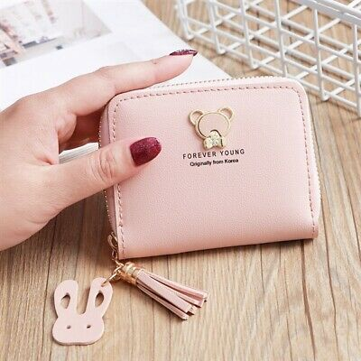 Women Leather Coin Card Purse Cute Small Wallet Zipper Clutch Mini Handbag Bag Ebay