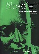 Bien Prokofiev Concerto Nº 2 Op63 Gmin Violon-afficher Le Titre D'origine