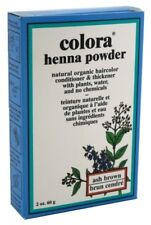 (3 Pack) COLORA HENNA POWDER HAIR COLOR ASH BROWN 2 Ounce