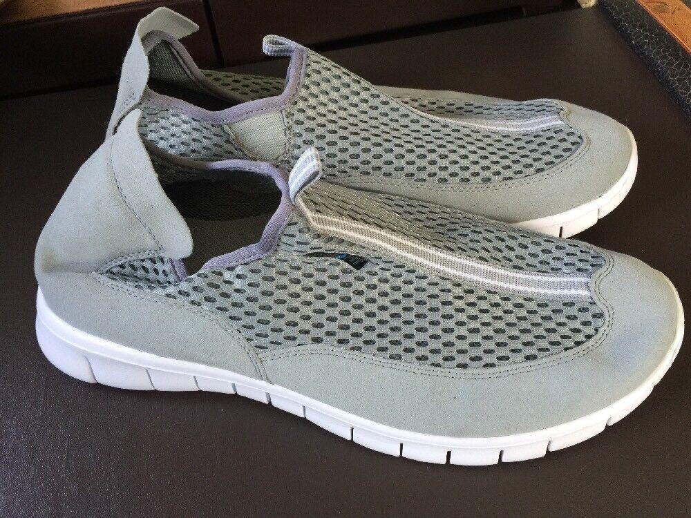 Tesla Men's Light Gray Hydrofit Ultra Lightweight Running Shoes L511 TF   11 D M
