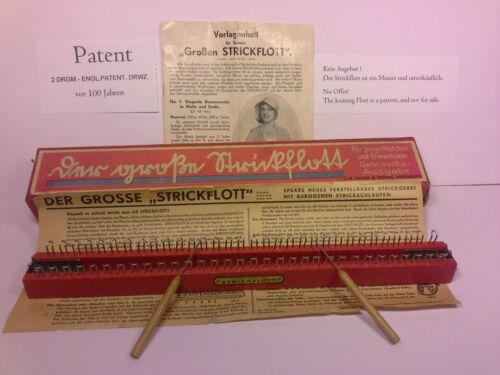 90 Strickrahmen L verstellbar Strickring Strickstab Strickliesel Knitting Board