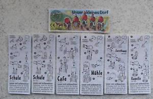 """Phrase BPZ """"notre petit village"""" 1995; Tous les 6 différents y compris variante-afficher le titre d`origine U3bdp3u0-09094400-432613231"""
