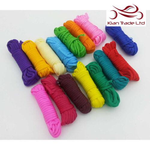 Paracord multi-couleurs assorties Pack 15 couleur Craft Bracelets Survie Camping