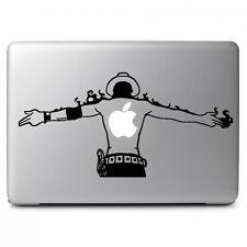 One Piece ACE Vinyl Decal Sticker for Macbook Air Pro 13 15 17 Laptop Car Window