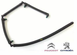 Peugeot-206-307-406-Boxer-Partner-2-0HDI-Leak-Off-Hose-Injector-Fuel-Leak-Pipe
