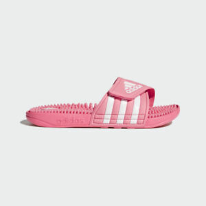 24a0448c3 Image is loading Womens-Adidas-Adissage-Pink-Slides-Shower-Sandal-Athletic-