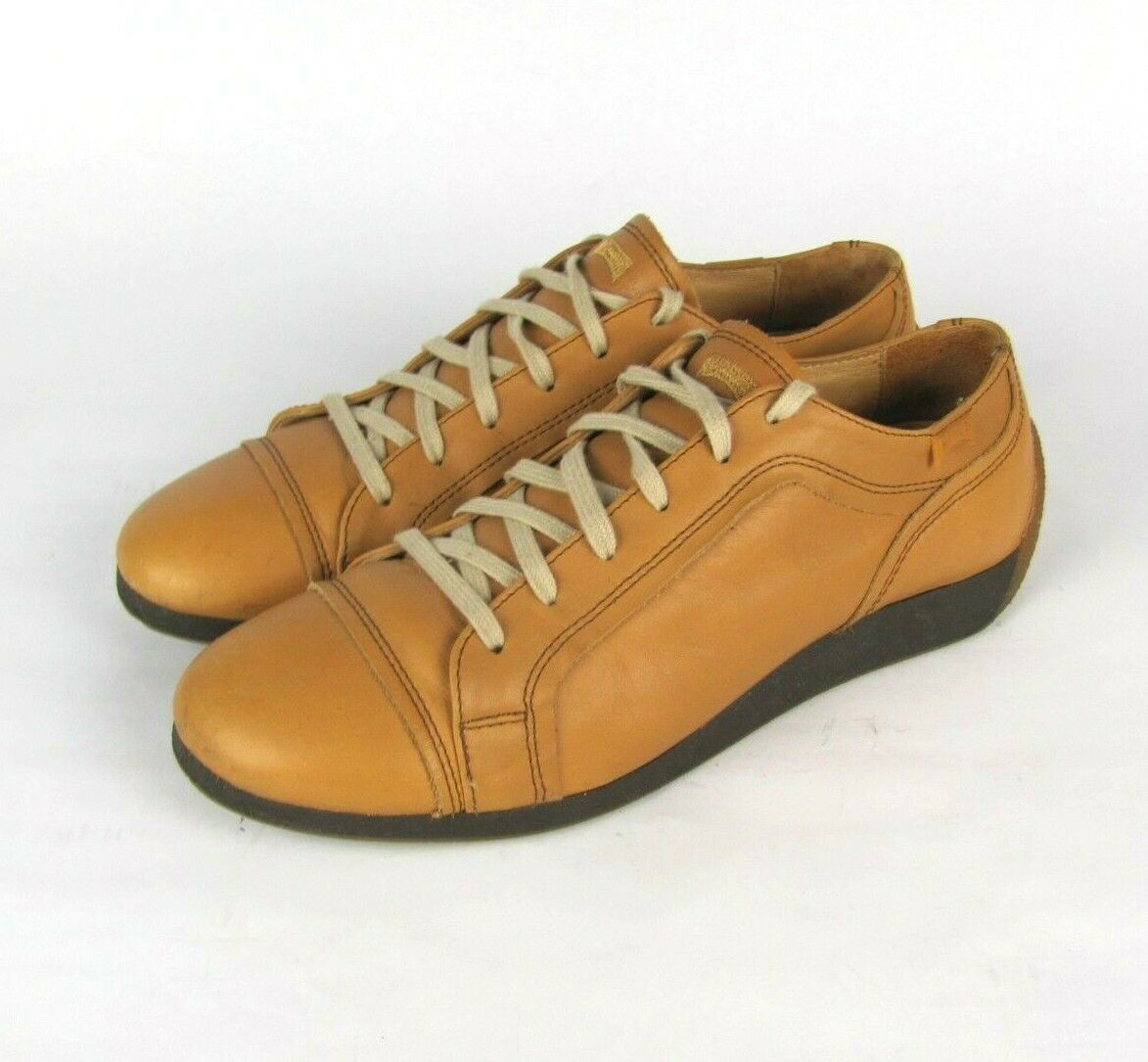 CAMPER  Womens EU 41 US 11 Brown Leather Sneakers
