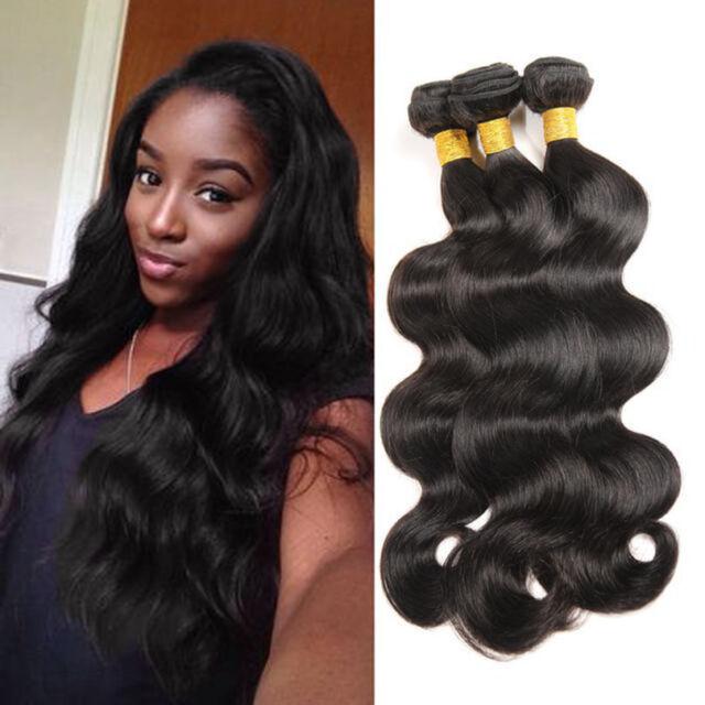 8A 3bundles/150g Brazilian Body Wave Human Hair Extension Virgin Remy Hair Weft