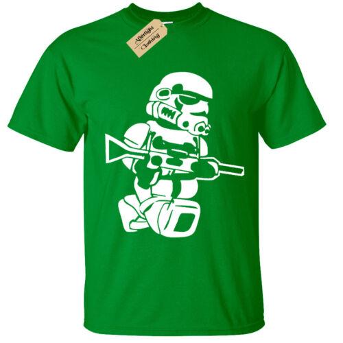 Enfants Garçons Filles LEGO Trooper T-Shirt Storm Wars Jedi Vader Star Yoda drôle Top