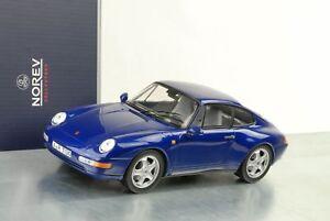 1995-PORSCHE-911-993-Coupe-Blu-Metallizzato-1-18-NOREV-187593