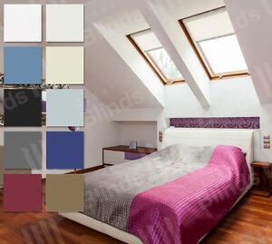FAKRO-lucernario-tende-per-finestre-Loft-Semplice-adattarsi-BLACKOUT-TENDE-del-tetto
