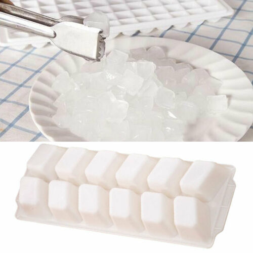 23.7*8.7*3cm Silicone Ice Tray Jelly Soap Pudding Cube Topper R2K0 Ho Tool U5B5