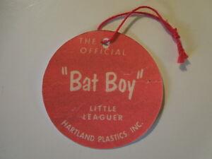 1950/'s 60/'s WILLIE MAYS Hartland Baseball  figure custom  Hang Tag