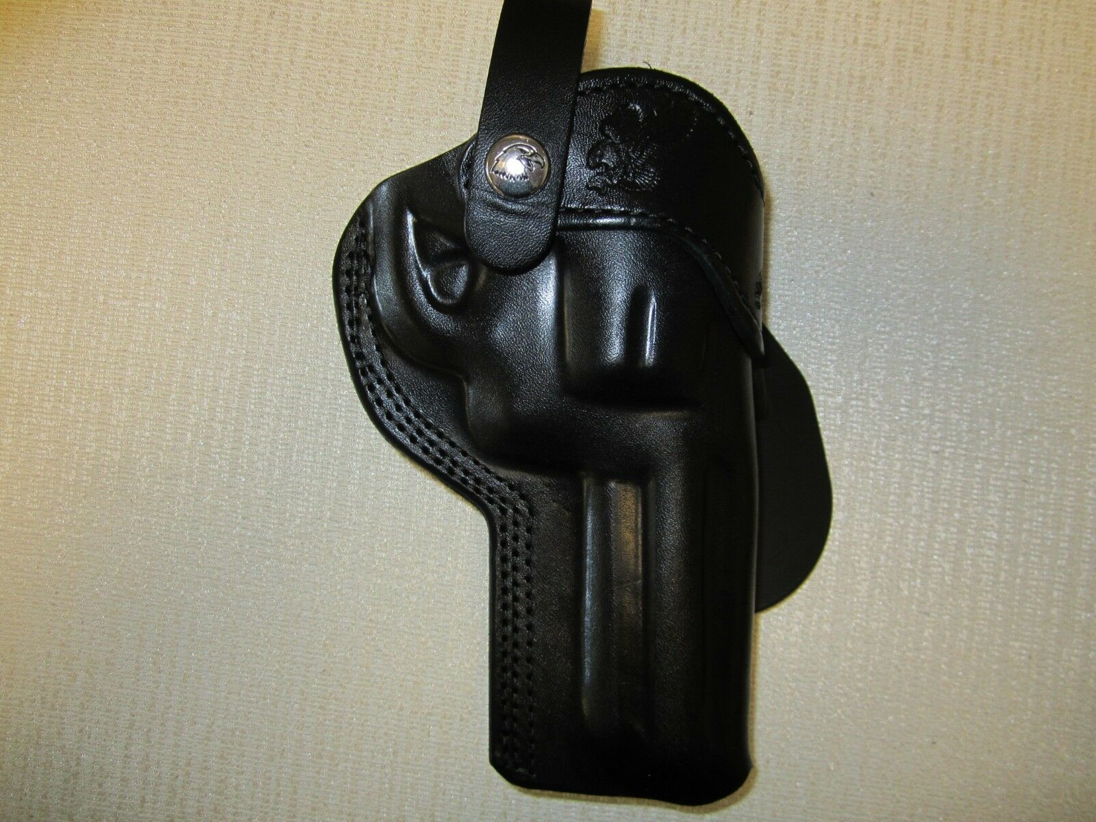 Fundas De Cuero Negro Funda De Paleta Braids seleccionar pistola y mano derecha o izquierda