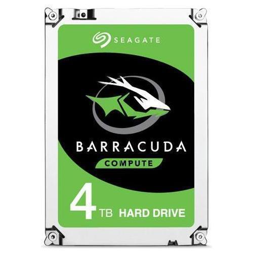 SEAGATE Hard Disk Interno BarraCuda 4 TB 3.5 Interfaccia Sata III 6 Gb / s 5400